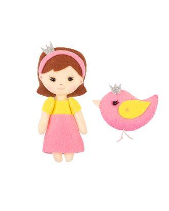 """Наборы для изготовления игрушек из фетра """"Miadolla"""" TF-0229 Сказочная принцесса арт. ГММ-12682-1-ГММ0035222"""