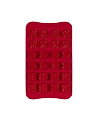 """Формы для выпечки силиконовые """"S-CHIEF"""" SPC-0129 для конфет 23.5x13.9x2 см арт. ГММ-14936-1-ГММ064958616614"""