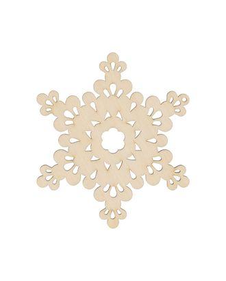"""Заготовки для декорирования """"Mr. Carving"""" ВД-788 Снежинка фанера 9x8 см арт. ГММ-13251-1-ГММ0034311"""