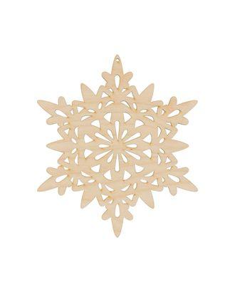 """Заготовки для декорирования """"Mr. Carving"""" ВД-790 Снежинка фанера 18x15.8 см арт. ГММ-13253-1-ГММ0060322"""