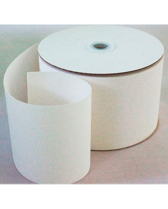 Лента шторная 100 мм 50 м лента люверсная односторонняя термоклеевая арт. ГММ-13377-1-ГММ0006789