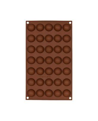 """Формы для выпечки силиконовые """"S-CHIEF"""" SPC-0134 для конфет 29.7x17.3x1.5 см арт. ГММ-15354-1-ГММ066867555614"""