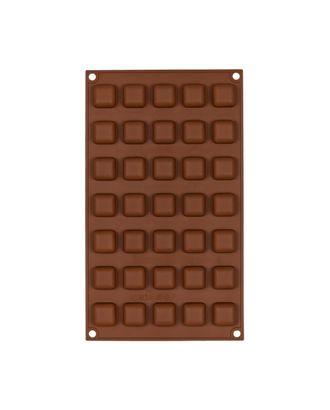 """Формы для выпечки силиконовые """"S-CHIEF"""" SPC-0135 для конфет 29.7x17.5x1 см арт. ГММ-15355-1-ГММ066867564644"""