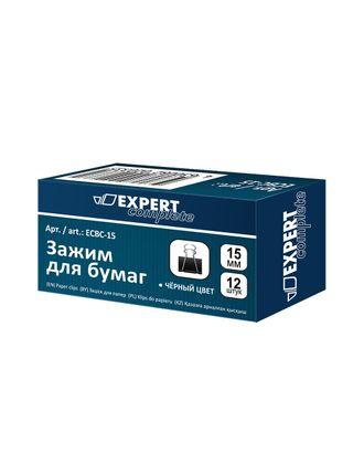 """Expert Complete"" Зажим для бумаг ECBC-15 15 мм 12 x 12 шт. арт. ГММ-100417-1-ГММ068845684574"