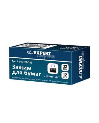 """Expert Complete"" Зажим для бумаг ECBC-32 32 мм 12 x 12 шт. арт. ГММ-100418-1-ГММ068845686254"