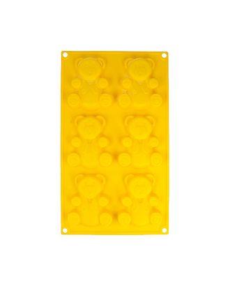"""Форма силиконовая """"S-CHIEF"""" для пирожных SPC-0334 30.5 x 18 x 1.8 см арт. ГММ-99316-1-ГММ069680033894"""