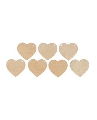 """Заготовки для декорирования """"Mr. Carving"""" ВД-879 Гирлянда из сердец №1 фанера 6х6.5 см арт. ГММ-15106-1-ГММ070040624664"""