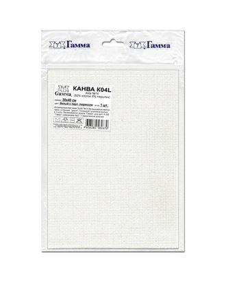 Канва K04L Aida №14 ФАСОВКА 92% хлопок, 8% терилен 30 x 40 см 5 шт арт. ГММ-14129-1-ГММ0033934