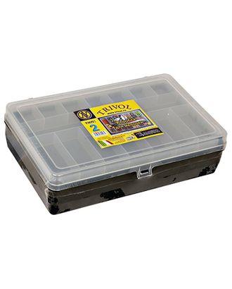 """""""Тривол"""" Коробка для мелочей пластик №2 арт. ГММ-14191-2-ГММ0060645"""