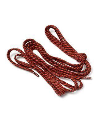 Шнурки плоские 9 мм 7с859 длина 100см, компл.2шт, цв.черный с красным арт. МГ-134-1-МГ0152571