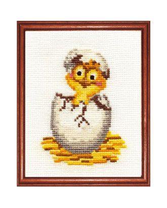 Набор для вышивания СДЕЛАЙ СВОИМИ РУКАМИ Цыпленок 11х14 см арт. МГ-14304-1-МГ0152720