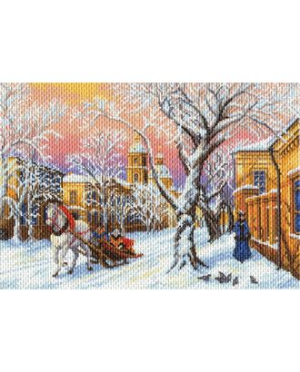 Рисунок на канве МАТРЕНИН ПОСАД - 1695 Зимний вечер арт. МГ-14387-1-МГ0153189