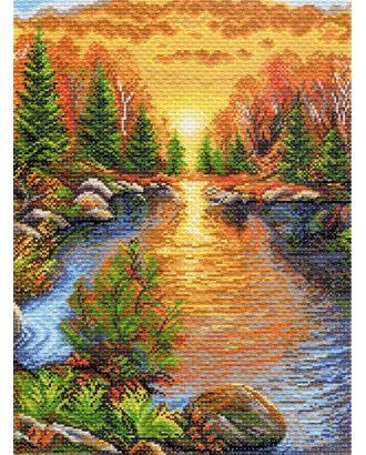 Рисунок на канве МАТРЕНИН ПОСАД - 1391 Отдых в карелии, композиция арт. МГ-14433-1-МГ0153247