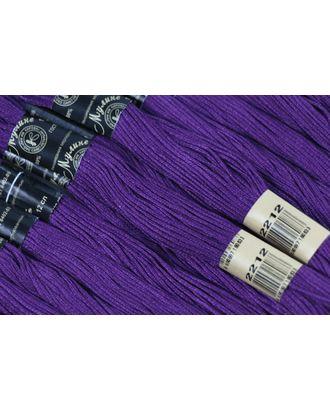 Нитки мулине цв.2212 фиолетовый 12х10м С-Пб арт. МГ-14590-1-МГ0153859