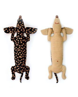 """Набор для изготовления текстильной игрушки-грелки с кофейными зернами """"Кофейная Такса"""" 34,5см арт. МГ-158-1-МГ0154086"""