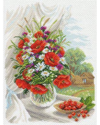 Рисунок на канве МАТРЕНИН ПОСАД - 1687 Полевые цветы арт. МГ-14696-1-МГ0154925