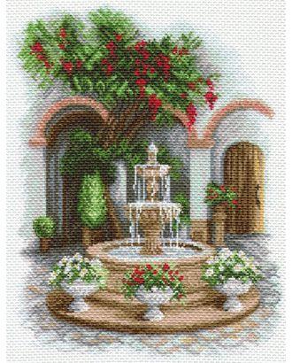 Рисунок на канве МАТРЕНИН ПОСАД - 1690 У прохладного фонтана арт. МГ-14698-1-МГ0154928
