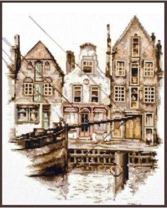 Набор для вышивания ПАЛИТРА Старый Амстердам 25х28 см арт. МГ-14708-1-МГ0154951