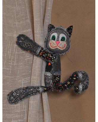 """Набор для изготовления текстильной игрушки с магнитами в стиле пэчворк """"Чучело-Мяучило"""" 26см арт. МГ-213-1-МГ0155510"""