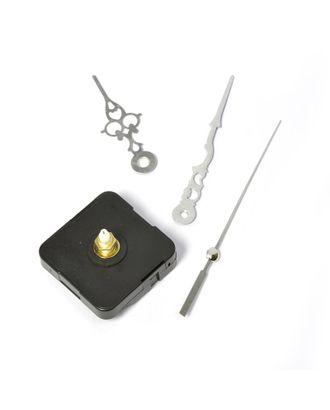 Часовой механизм SC-2 кварцевый, комплект: бесшумный механизм (шток 18/12мм) арт. МГ-222-1-МГ0155926