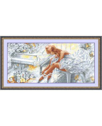 Набор для вышивания СДЕЛАЙ СВОИМИ РУКАМИ Балерина 57х27 см арт. МГ-14849-1-МГ0156043