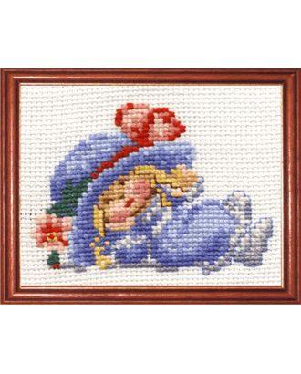Набор для вышивания СДЕЛАЙ СВОИМИ РУКАМИ Модница 14х10 см арт. МГ-14909-1-МГ0156351