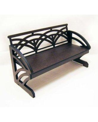 Комплект сборки из МДВ садовая скамейка №4 недекорированный арт. МГ-14976-1-МГ0156625