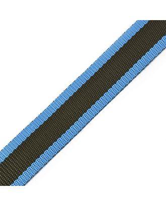 Стропа-30 цв.42 синий-черный арт. МГ-77984-1-МГ0156682