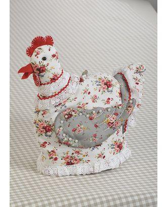 """Набор для изготовления текстильной грелки на чайник """"Курица-грелка"""" арт. МГ-253-1-МГ0156978"""