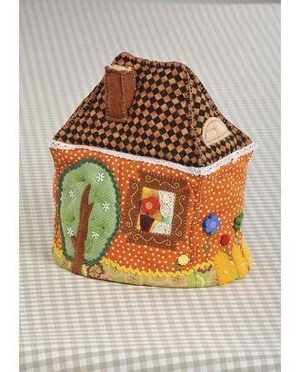 """Набор для изготовления текстильной грелки на чайник """"Чайный домик"""" арт. МГ-255-1-МГ0156980"""