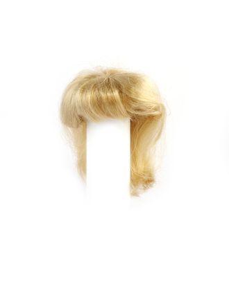 Волосы прямые П50 цв.блондин арт. МГ-292-1-МГ0157678