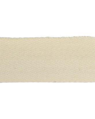 Тесьма киперная ш.4см хлопок 1,8г/см цв.суровый арт. МГ-304-1-МГ0158377
