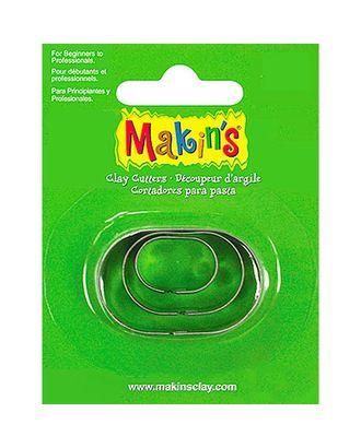 """Makins Набор каттеров """"Овал"""", 3 шт. арт. МГ-15531-1-МГ0158555"""