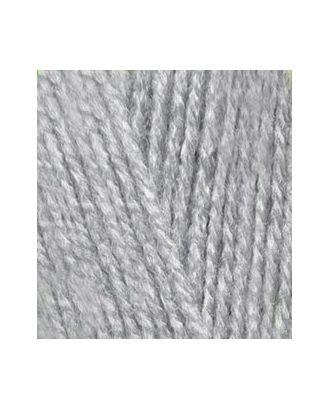 Пряжа для вязания Ализе Sekerim Bebe (100% акрил) 5х100г/350м цв.021 серый меланж арт. МГ-15765-1-МГ0159272