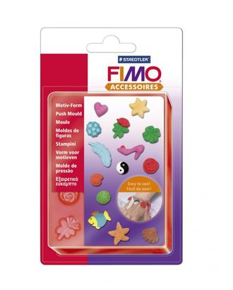 "FIMO Формочки для литья ""Бижутерия"" уп. 14 форм 1,5x1,5 см 01 арт. МГ-15856-1-МГ0159658"