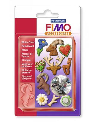 "FIMO Формочки для литья ""Альпийский стиль"" уп. 10 форм 09 арт. МГ-15861-1-МГ0159686"