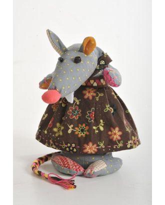 """Набор для изготовления текстильной игрушки-грелки с кофейными зернами """"Кофейная Лариска"""" 33 см арт. МГ-459-1-МГ0161674"""