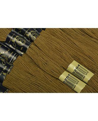 Нитки мулине цв.5204 хаки 12х10м С-Пб арт. МГ-16324-1-МГ0161750