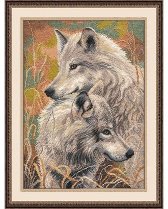 Набор для вышивания ОВЕН Волчья верность 30х40см арт. МГ-16336-1-МГ0161897
