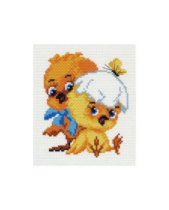 Рисунок на канве МАТРЕНИН ПОСАД - 0932 Цыплята арт. МГ-16519-1-МГ0162609