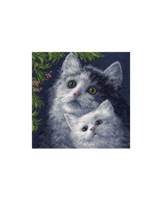 Рисунок на канве МАТРЕНИН ПОСАД - 0971 Котята арт. МГ-16543-1-МГ0162663