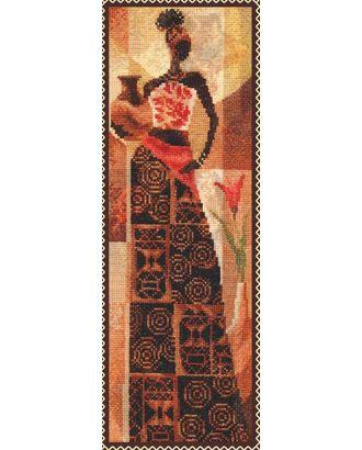 Набор для вышивания ПАЛИТРА Девушка с кувшином 12х36 см арт. МГ-16547-1-МГ0162669