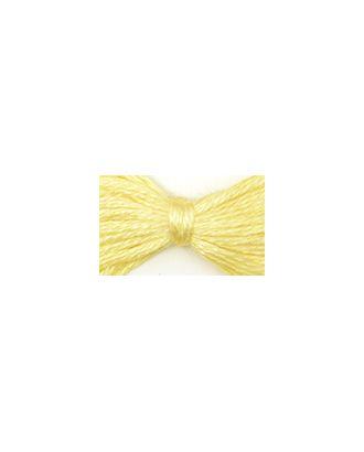 Нитки мулине цв.0300 бл.желтый 12х10м С-Пб арт. МГ-16569-1-МГ0162785