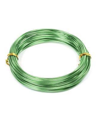 Проволока Ø 1,5мм цв.25 зеленый рул.10м арт. МГ-16598-1-МГ0162859