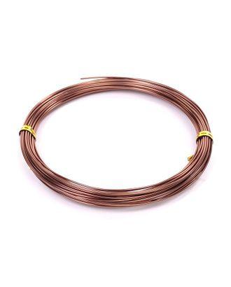 Проволока Ø 1мм цв.18 коричневый рул.10м арт. МГ-16602-1-МГ0162872