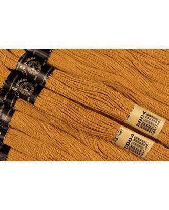 Нитки мулине цв.5004 горчичный 12х10м С-Пб арт. МГ-16644-1-МГ0163107