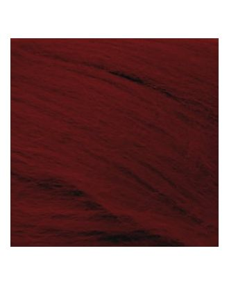 Шерсть для валяния ПЕХОРКА полутонкая шерсть (100%шерсть) 50г цв.007 бордо арт. МГ-16669-1-МГ0163163