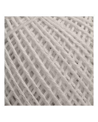 "Нитки для вязания ""Пион"" (70% хлопок, 30% вискоза) 6х50г/200м цв.0102 арт. МГ-16708-1-МГ0163346"
