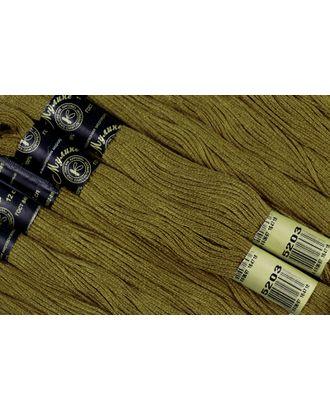 Нитки мулине цв.5203 хаки 12х10м С-Пб арт. МГ-16774-1-МГ0163738
