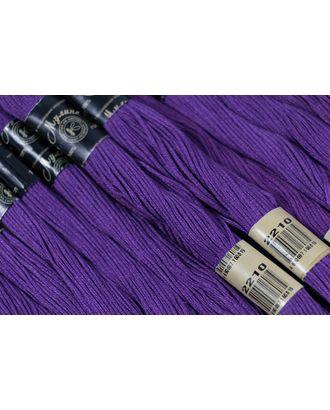 Нитки мулине цв.2210 фиолетовый 12х10м С-Пб арт. МГ-16785-1-МГ0163809